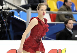2018 - Moscow, Europeans, Carolina Kostner