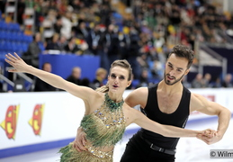 2018 - Moscow, Europeans, Gabriella Papadakis and Guillaume Cizeron SD FD
