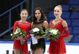 2018 - Espoo, Finlandia Trophy SP FP Ladies